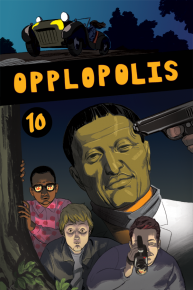 Opplopolis issue #10 cover