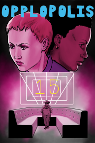 Opplopolis issue #15 cover